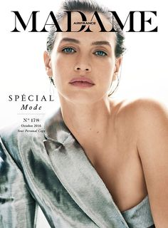 Crista Cober on Air France Madame Magazine October 2016 cover