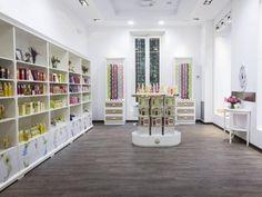 La primer tienda efímera de Roger&Gallet está en Madrid y permanecerá abierta hasta principios de agosto.