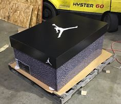 We will build and customize your favorite giant shoe box storage design. Organize your sneaker collection with style, and finesse. For true sneakerheads only. Jordan Shoe Box Storage, Giant Shoe Box Storage, Shoe Storage, Sneaker Storage, Creative Box, Coloring Tips, Storage Design, Storage Ideas, Elephant Print