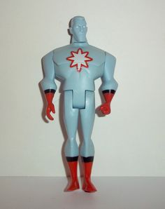 justice league unlimited CAPTAIN ATOM version BLUE dc universe mattel jlu dc universe animated action figure for sale in online toy store to buy