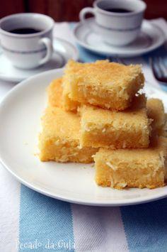 PECADO DA GULA: Bolo de fubá cremoso queijadinha