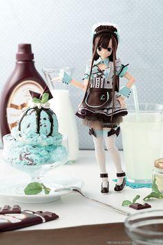 サアラズ ア・ラ・モード ~スイーツ ア・ラ・モード~ チョコミントアイス/リセ_N_001