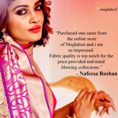 #customertestimonials #sarees #fashion #style Customer Feedback, Mind Blown, Sarees, Mindfulness, Fabric, Style, Fashion, Tejido, Swag