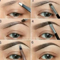 Perfect eyebrow diy