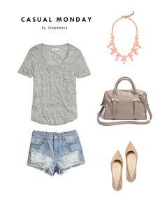 Oh So Pretty: Style // Casual Monday By Stephanie
