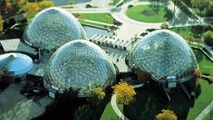 A beautiful photo of the Mitchell Park Domes (photo: Greater Milwaukee Convention and Visitors Bureau)