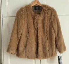 ZARA TRF COLLECTION FAUX FUR JACKET via kalfamak. Click on the image to see more!