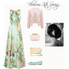 """Formal Spring"" on Polyvore modest formal outfit Formal Outfits, Modest Outfits, Modest Fashion, Dress Outfits, Cool Outfits, Fashion Outfits, Dresses, Formal Dance, Formal Wear"