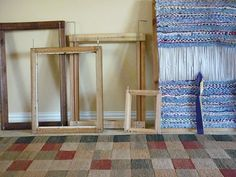 """Rag Rug Loom Instructions by Now Thats Crafty, via Flickr """"Things to Make, Charlotte Magno"""" oknowthatscrafty.blogspot.com/"""