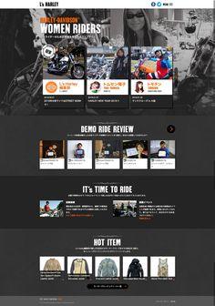 L's Harley | Harley-Davidson Women Riders | Harley-Davidson Japan