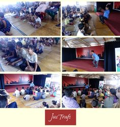 We had a lovely time with the kids, their parents and of course, Arun! :) #StorywallahsWasGreat @Storywallahs