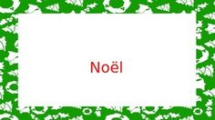 Free PowerPoint introducing vocabulary for Christmas in French.  Each slide has one vocabulary picture and a sentence to put the word in context.    This vocabulary is also available in a set of 40 Loto cards that can be used as a fun way to practice Christmas vocabulary and play a fun game during the Christmas season.