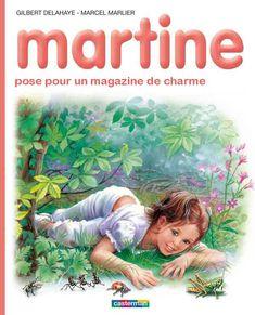 Martine pose pour un magazine de charme