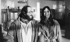 I'm surprised there's a picture of them touching. But Shelley Duvall's smile looks a little... forced.