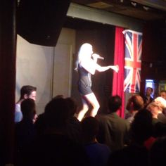 """Suzy covers Madonna! @eurofestuk #eurovision"""