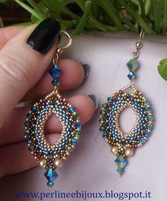 Perline e Bijoux: Orecchini Istanbul di Eliana Maniero