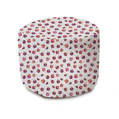 Pomegranate II Pouffe