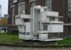 Homage to van Doesburg and van Eesteren Bauhaus, Mondrian, Theo Van Doesburg, Architecture Drawings, Planes, Houses, Models, Home Decor, Image