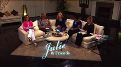 Watch an all new Julie & Friends on Monday, 6/13/16! The ladies will be talking about bitterness, confrontation, and seeking inner peace.