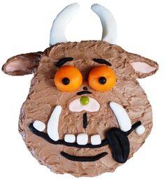 Gruffalo cake Gruffalo Party, Gruffalo Movie, Farm Animal Cakes, Gruffalo's Child, Baby Birthday, Birthday Parties, Birthday Cake, Cake Kit, Second Birthday Ideas