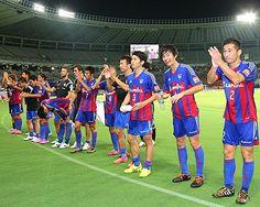 [ J1:第18節 F東京 vs 清水 ] これで3連勝となったF東京、勝点を28に伸ばし5位に浮上した。  2014年8月2日(土):味の素スタジアム