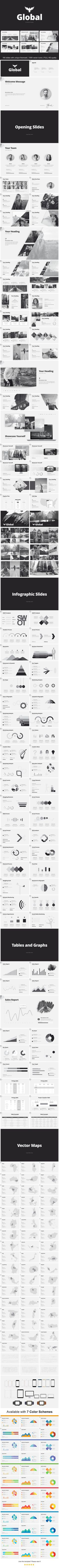 Minimal - #Business #PowerPoint #Templates Download here: https://graphicriver.net/item/minimal/19530509?ref=alena994