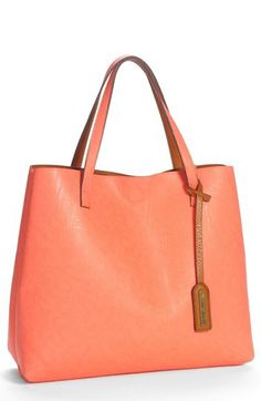 Street Level Reversible Faux Leather Tote & Wristlet (Juniors) available  at #Nordstrom  reversible!