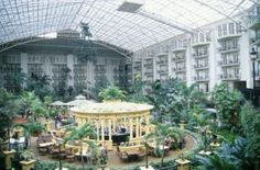 """OPRYLAND HOTEL, NASHVILLE, TENNESSEE......The biggest, most decadently decorated and expansive hotel I have ever seen.  There is as much nature inside as outside and you can walk for hours and never see the same view.  There are more shops than most malls and more restaurants than most small towns.  Staying at Opryland can only be called """"the experience of a  lifetime."""""""