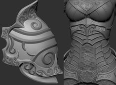 Making Of Elf by Nikita Volobuev Nikita Volobuev is a Artist from Moscow-Krasnogorsk, Russia. Zbrush Character, 3d Model Character, Character Modeling, Game Character, Character Design, Zbrush Tutorial, 3d Tutorial, Zbrush Models, Digital Sculpting
