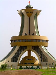 Tower in Ouagadougou - Burkina Faso, Africa