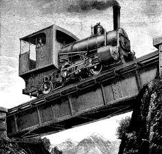 ~Repinned Via S Bennett Black White Pattern, Black And White, Trains, Train Illustration, Hell On Wheels, Train Art, My Town, Train Tracks, Free Training