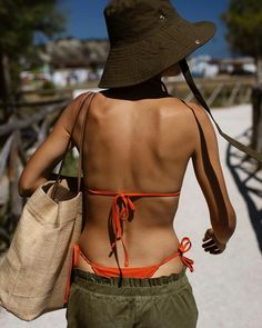 Jenny Walton summer beach swimwear style