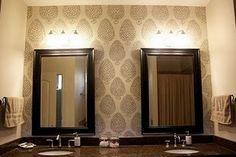 Pretty Patterned Walls- ahhhh love it