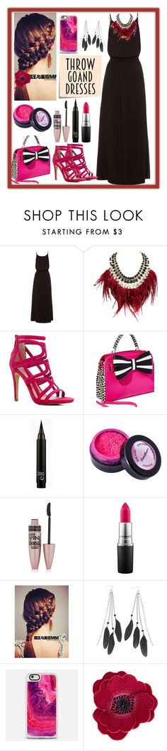 """""""Throw and go Dresses: Contest Entry"""" by haybeebaby ❤ liked on Polyvore featuring Heidi Klein, WithChic, ALDO, Betsey Johnson, Stargazer, Maybelline, MAC Cosmetics, Charlotte Russe, Casetify and Accessorize"""