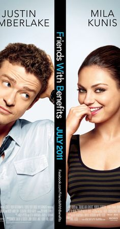 Directed by Will Gluck.  With Mila Kunis, Justin Timberlake, Patricia Clarkson, Jenna Elfman. While trying to avoid the clichés of Hollywood romantic comedies, Dylan Harper and Jamie Rellis soon discover however that adding the act of sex to their friendship does lead to complications.