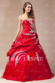 2014 Sweetheart Lace-up Ball Gown Organza Beaded Cheap Evening Gowns Prom Dresses Party Dresses