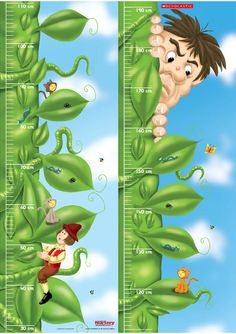 Jack and the Beanstalk Height Chart
