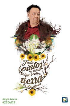 Diego Rivera Grandes figuras del arte Mexicano  Dirección: Diego López Domingo 13 de marzo 2016, 20:00 h. Retransmisión: miércoles 16 de marzo, 21:00 h.