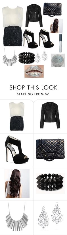 """Going out"" by bae1027 ❤ liked on Polyvore featuring AX Paris, Topshop, Michael Kors, Chanel, Forever 21, Kenneth Cole, Arabel Lebrusan and Rimmel"