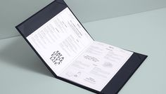 Menu designed by Glasfurd & Walker for US and Canadian restaurant chain prototype Earls.67