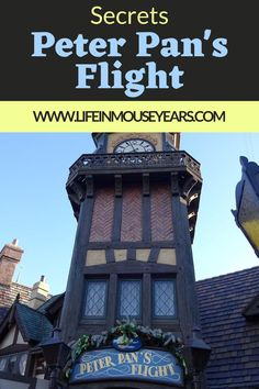 Peter Pan's Flight in Disneyland is one of the twelve opening day attractions that still exist today! In fact, it is one of the most popular attractions in Fantasyland. Find out secrets and some fun facts about this beloved attraction in Disneyland in this post-Secrets of Peter Pan's Flight in Disneyland. www.lifeinmouseyears.com #lifeinmouseyears #disneyland #peterpansflight Disneyland Rides, Disneyland Secrets, Disneyland California, Disneyland Resort, Disney Cruise, Disney Vacations, Post Secret, The Secret, Peter Pans Flight