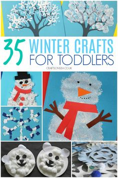 "Best No Cost january Crafts for Kids Suggestions Present have you ever heard your child say: ""I am bored."" Also frequently pertaining to sure. Summer Arts And Crafts, Arts And Crafts For Adults, Easy Arts And Crafts, Simple Crafts, Snow Crafts, Holiday Crafts, Fun Crafts, Clay Crafts, Toddler Art"