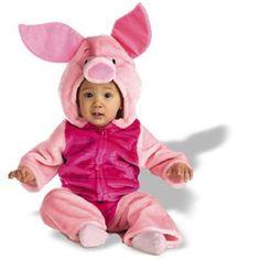Disney Baby Piglet Plush Bodysuit Infant / Toddler Costume