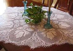 FREE CROCHET PATTERNS | ROUND CROCHET TABLECLOTH PATTERN