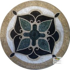 MD013 Marble Mosaic Medallion