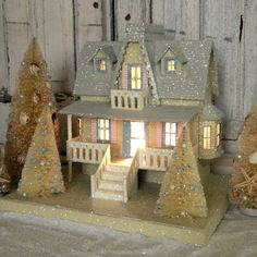 KD Vintage Christmas Beach Cottage II