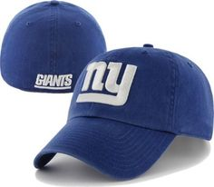 Men s  47 Brand New York Giants Franchise Slouch Fitted Hat by  47 Brand. a3341fcaa0a0
