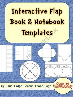 100+ Interactive Notebook Flip Flaps and Foldables Clip Art Set from Blue Ridge Second Grade Days on TeachersNotebook.com -  (100 pages)  - These interactive notebook flip flaps and foldables clip art set is a great way to create interactive notebook activities and lessons that encourage student interaction. This clip art set includes multiple versions of the different types of foldables: -fr