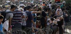 Zahl der Flüchtlinge auf Balkanroute versechsfacht - SPIEGEL ONLINE