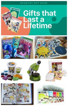 Science Gift Ideas Guide: Excite Kids Ages 3 to 18 with Space, Insects, and Rocks! (affiliate link) Searching for a gift that will spark a curiosity in science? Here are gift ideas that last a lifetime.